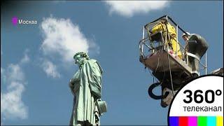В Москве очистили от пыли Александра Пушкина