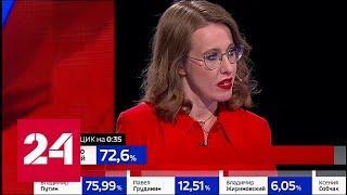 Собчак: вся кампания была очень грязной! // Выборы-2018