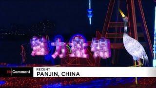 Фестиваль фонарей в Китае