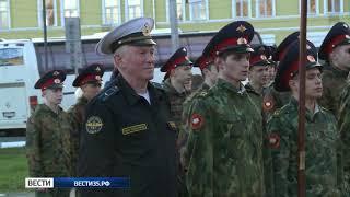 В Вологде прошла репетиция парада Победы