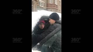 Москвич алиментщикпытался скрыться отприставов намашине сребенком