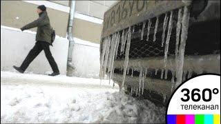 Ледяной ливень прогнозируют в столичном регионе 14 марта