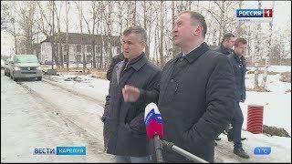 Рашид Нургалиев посетил Беломорский район