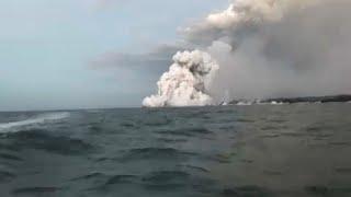 Любоваться вулканом лучше на расстоянии