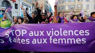 Европейские женщины выступили против насилия