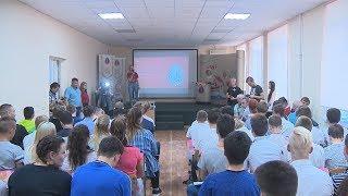 В Волгограде прошел футбольный урок «Приветствуем ЧМ-2018!»