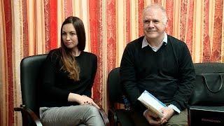 Поэт Светлана Лаврентьева встретилась со студентами в Краснодаре