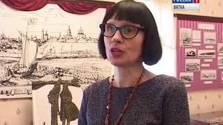 Вятка времен Салтыкова-Щедрина глазами юных художников(ГТРК Вятка)