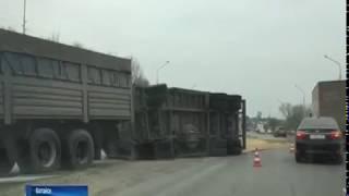 На Южном подъезде к Батайску образовалась крупная пробка