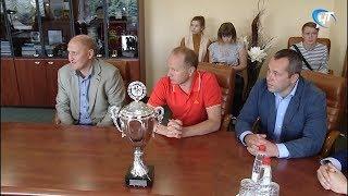 С победой из Билефельда вернулась команда Великого Новгорода по мини-футболу