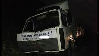 Смертельное ДТП: МАЗ врезался в микроавтобус