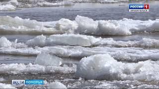 В Архангельске ждут вторую волну ледохода