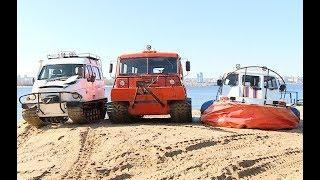Волгоградские спасатели продемонстрировали готовность к паводку