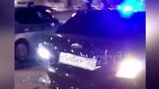 """Пьяный водитель """"десятки"""" врезался в иномарку с номерами СКР. Краснодар."""