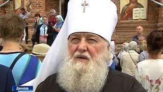 В Данилове отметили 100-летие освящения собора иконы Казанской Божьей матери