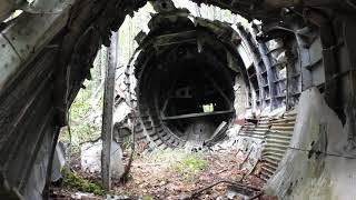 Хабаровский край поисковики на месте крушения самолета под Совгаванью