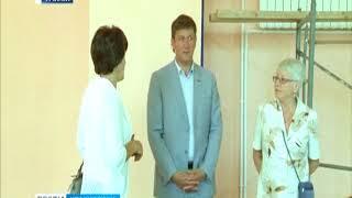 В Ачинском медицинском техникуме готовится к открытию новый спортзал