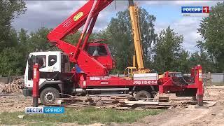 """Реконструкция стадина """"Десна"""" в Брянске"""