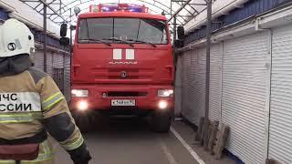На Центральном рынке выявлена масса нарушений по пожарной безопасности