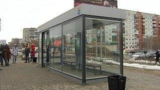 В Сургуте отказались устанавливать тёплые автобусные остановки