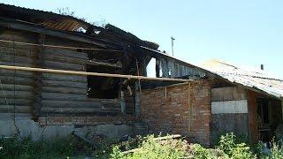 Сразу три семьи после пожара в пензенском селе остались без крыши над головой