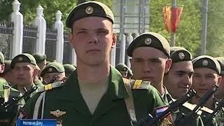 100 лет Южному военному округу: праздник открылся парадом в Ростове