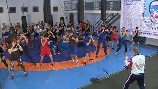 Волгоградские боксеры провели флешмоб
