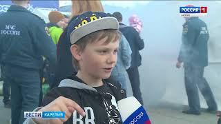 Соревнования спасателей прошли в Петрозаводске