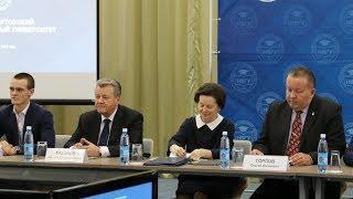 Наталья Комарова поздравила студентов и преподавателей НВГУ с 30-летием вуза