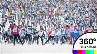 Массовая гонка «Лыжня России» прошла в Химках