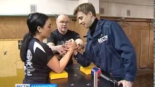 Спортсменка из Калининграда завоевала серебро по армрестлингу в США