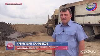 Разлив нефти в Ногайском районе Дагестана. Загрязнено более 5 тыс. кв. м земли