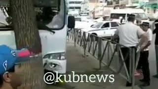 ДТП с маршруткой в Краснодаре