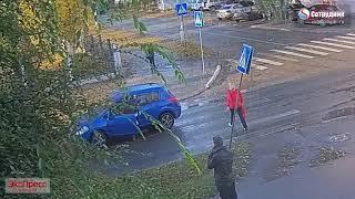 ДТП Бийск 24/09 Воинов Липового Сбили пешехода