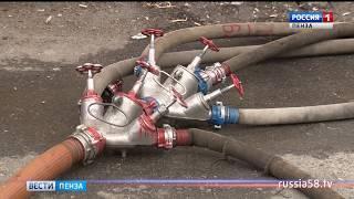 Стали известны новые подробности крупного пожара в центре Пензы