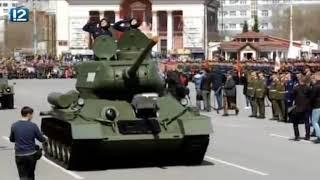 Тысячи омичей пришли на парад Победы