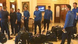 В Волгоград прибыли футболисты команды «Луч-Энергия»