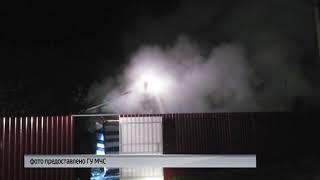 Ночью в Ярославском районе сгорел жилой дом