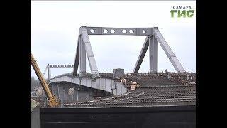 Строительство Фрунзенского моста идёт по запланированному графику