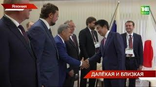 Рустам Минниханов в составе российской делегации посещает с рабочим визитом Японию   ТНВ