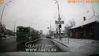 ДТП на ул  Чернышевского, Тюмень: Приора и иномарка