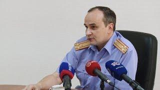 Руководитель Следственного комитета по Мордовии провел пресс конференцию
