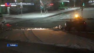 Башкирское Зауралье заметает снегом
