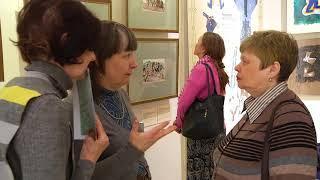 """Жемчужина музея им. """"Врубеля"""": картины японского художника 19 века"""