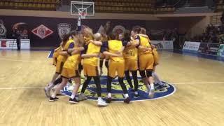 Вологодские «пчелки» стали чемпионами России по баскетболу