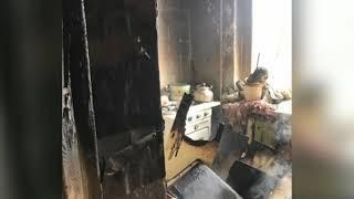 В Рыбинске произошел пожар в жилом доме: есть жертвы