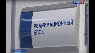 Донской губернатор осмотрел новый модульный инфекционный блок ЦГБ Ростова