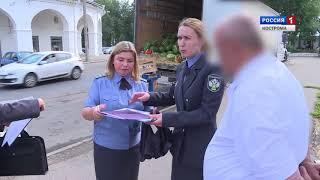 Cпециалисты Россельхознадзора проверяют солому, на которой на костромские рынки приехали арбузы
