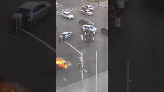 Смертельное ДТП в Астане: погиб мотоциклист