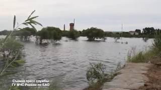 Экстренные службы ЕАО подвели итоги работы во время минувшего паводка (РИА Биробиджан)